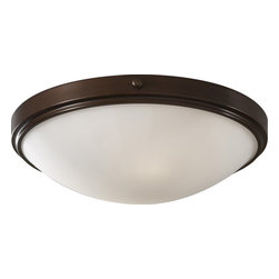 Murray Feiss - Murray Feiss Perry Transitional Flush Mount Ceiling Light X-ZBTH353MF - Small rivet details and a beautiful tiered trim are complimented by an eye-catching Heritage Bronze finish over sturdy steel construction on this Murray Feiss flush mount ceiling light. From the Perry Collection, this traditional yet modern flush ceiling light also features a curvilinear white opal etch glass shade.