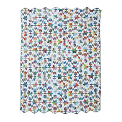 Patch Quilts - Granmas Memories Quilt King 105 x 95 - - Intricate  patchwork and beautiful hand quilting.Bedding ensemble from Patch Magic  - The Name for the finest quality quilts and accessories  - Machine washable.Line or Flat dry only Patch Quilts - QKGRMM