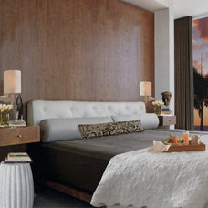Contemporary Bedroom by Adelene Keeler Smith Interior Design