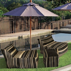 Contemporary Outdoor Chaise Lounges by Home Infatuation