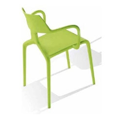 Green - Shark Chair Set of 4