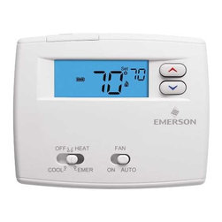 "WHITE RODGERS - ROGRAMMABLE DIGITAL THERMOSTAT 1F89-0211 - | White Rodgers 1F89-0211 | Blue 2"" display 