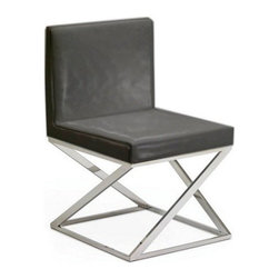 Nuevoliving - Nuevo Living Toulon Dining Chair - Black - Features: