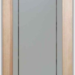 """Pantry Door - Lenora - PANTRY DOORS TO SUIT YOUR STYLE!  Glass Pantry Doors you customize, from wood type to glass design!   Shipping is just $99 to most states, $159 to some East coast regions, custom packed and fully insured with a 1-4 day transit time.  Available any size, as pantry door glass insert only or pre-installed in a door frame, with 8 wood types available.  ETA for pantry doors will vary from 3-8 weeks depending on glass & door type.........Block the view, but brighten the look with a beautiful obscure, decorative glass pantry door by Sans Soucie!   Select from dozens of frosted glass designs, borders and letter styles!   Sans Soucie creates their pantry door obscure glass designs thru sandblasting the glass in different ways which create not only different effects, but different levels in price.  Choose from the highest quality and largest selection of frosted glass pantry doors available anywhere!   The """"same design, done different"""" - with no limit to design, there's something for every decor, regardless of style.  Inside our fun, easy to use online Glass and Door Designer at sanssoucie.com, you'll get instant pricing on everything as YOU customize your door and the glass, just the way YOU want it, to compliment and coordinate with your decor.  When you're all finished designing, you can place your order right there online!  Glass and doors ship worldwide, custom packed in-house, fully insured via UPS Freight.   Glass is sandblast frosted or etched and pantry door designs are available in 3 effects:   Solid frost, 2D surface etched or 3D carved. Visit or site to learn more!"""