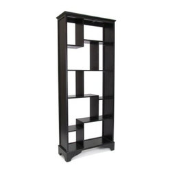 Wayborn Vertical Asian Storage Shelves - Their modern design, with an ornate, classic touch, makes these storage shelves a must-have for any home. The Wayborn Vertical Asian Storage Shelves are made of premium pinewood, with a smooth finish. These storage shelves have ten open compartments that provide ample space for keeping your books, artifacts, photographs, and other items for display. Built to last, these well-designed, unique shelves can blend in well with your living room or den.