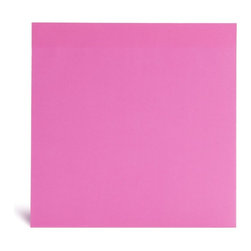Poppin - Jumbo Mobile Memo, Neon Pink - Talk about big ideas! From dreams to love notes to shopping lists, these 8-1/2-inch square notes will put your thoughts front and center. Each pad contains 100 sheets of paper. You'll never reach for those itty bitty sticky notes again