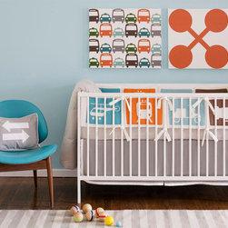 Dwell Transportation Crib Set -
