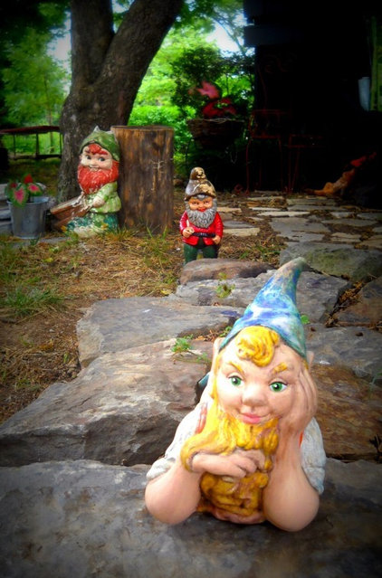 Houzz Readers Show Their Gnomes
