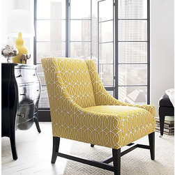 yellow chair -
