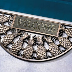 Front Door - Pineapple Welcome Doormat