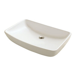 MR Direct - MR Direct v350 Porcelain Sink, Bisque, Chrome, *No Drain* - Our extensive line of porcelain sinks will compliment any decor from the traditional to the unique. Our porcelain sinks are true vitreous china with a triple laid glaze to create the strongest sink you will find. Our porcelain sinks are extremely low maintenance. Our porcelain sinks are covered by a limited lifetime warranty.