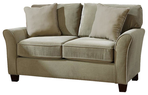 Transitional Loveseats by Albany Industries (SoFab)