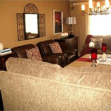 Mediterranean Living Room by Second Wind Interior Design