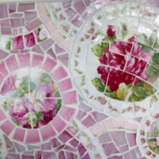 Eclectic Side Tables And End Tables by Grindstone Mountain Mosaics