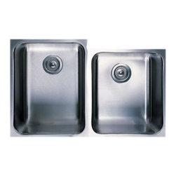 Blanco - Blanco Blancospex 1-3/4 Bowl Undermount Kitchen Sink, Satin (440308) - Blanco 501-110 Blancospex 1-3/4 Bowl Undermount Kitchen Sink, Satin