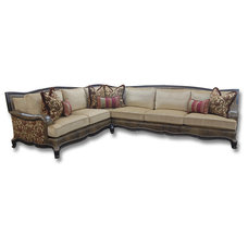 Traditional Sectional Sofas by Feathers Custom Furnishings