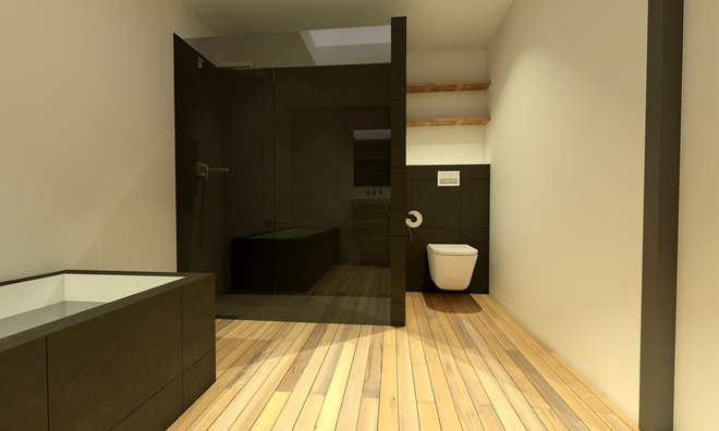 Contemporary Bathroom by DEEVIS interieurontwerp