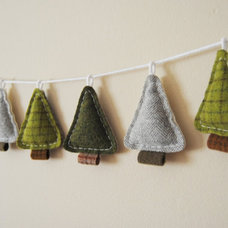 Contemporary Christmas Decorations by Etsy