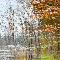 """Reflection 13"" Artwork - Landscape in Fall"