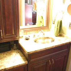 Traditional Bathroom Vanities And Sink Consoles by Home Interior Solutions of Northwest Florida