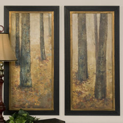 "41136 Tranquil Forest I, II S/2 by uttermost - Get 10% discount on your first order. Coupon code: ""houzz"". Order today."