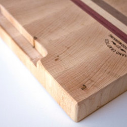 Medium Hard Maple End-Grain Cutting Board -