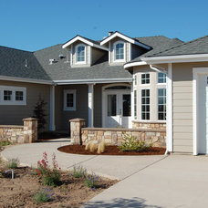Traditional Exterior by Barber Builders