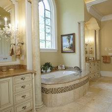 Traditional Bathroom by Global Granite & Marble