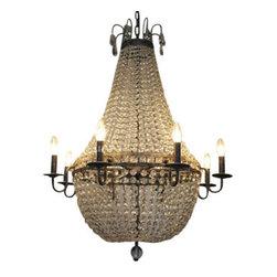 NOIR - NOIR Furniture - Noble Chandelier - LAMP375 - UL Listed