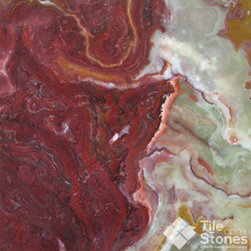 Multi Red Onyx 12x12 Polished - Call to order: 1-877-558-8484