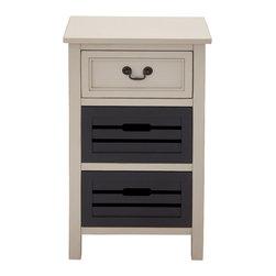 Stylish Trendy Wood Night Stand - Description: