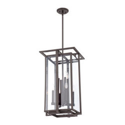 Quoizel - Quoizel QF1397R Quoizel Fixture 1 Tier Chandelier - Decorate your home in style with this alluring 8 light 1 tier chandelier featuring pristine clear glass.Features: