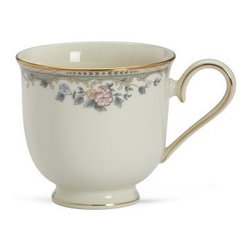 Lenox Spring Vista Teacup - Enjoy the tradition of tea with the Lenox Spring Vista Teacup, which brings its own elegant style to the table. It features hand-painted flowers and a rim of brilliant 24 karat gold. This 6-ounce teacup is made from ivory bone china. It's dishwasher-safe for easy cleaning.About LenoxThe Lenox Corporation is an industry leader in premium tabletops, giftware, and collectibles. The company markets its products under the Lenox, Dansk, and Gorham brands, propelled by a shared commitment to quality and design that makes the brands among the best known and respected in the industry. Collectively, the three brands share 340 years of tabletop and giftware expertise.