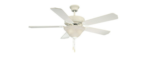 "Savoy House - Savoy House 52-ECM-5RV First Value 5 Blade Ceiling Fan - First Value 52"" Five-Blade Indoor Ceiling Fan with Bowl Light Kit and Reversible Fan BladesSavoy House First Value Down Light Indoor Ceiling Fan Features:"