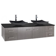 Modern Bathroom Vanities And Sink Consoles by Dayoris Custom Woodwork