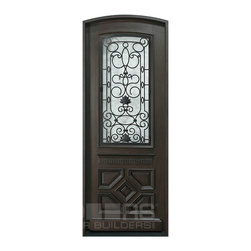 Heritage Collection (Custom Solid Wood Doors) - Custom Front Entry Door -  Single Door - Heritage Collection - Doors For Builders Inc.