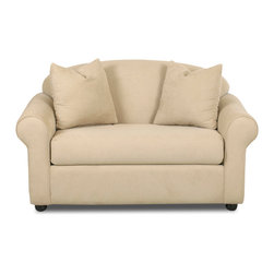 Savvy - Chicago Chair Sleeper Sofa, Fastlane Oatmeal, Chair Sleeper, Dreamsleeper Mattre - Chicago Chair Sleeper Sofa in Fastlane Oatmeal