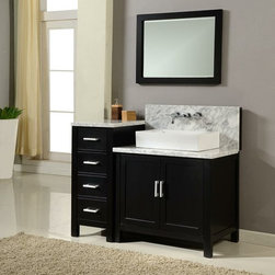 Bathroom Vanities with Wall Mount Faucets - What are vanities with wall mount faucets? If you are shopping for a new bathroom vanity or simply renovating master bathroom, you will have many selections in front of you. One of the significant sets is determining what kind of bathroom cabinet you want to put in. Bathroom Vanities with Wall Mount Faucets offer a unique style and expression that may improve an excessive touch of personality and gift to your bathroom. Vanities with wall mount faucets are fixture that is attached directly to the wall behind your bathroom vanity cabinets. They are unique and different from other styles of vanities with wall mount faucets, both beautifully and technically.
