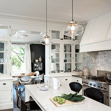 Home Remodeling Ideas / Mirrored 'splash like Candice Olson and lighting conundr
