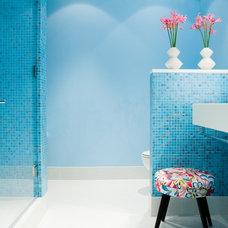 Industrial Bathroom by Ruhl Walker Architects