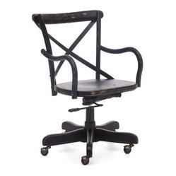 Union Square Office Chair, Black