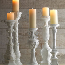 Traditional Candles And Candleholders by Horchow