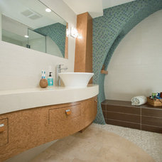 Tropical Bathroom by National Association of the Remodeling Industry