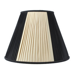 Home Concept - Beige/Black with Gold Liner Premium Lampshade 8 x 16 x 12 - Celebrate Your Home - Home Concept invites you to welcome your guests with our array of lampshade styles that will instantly upgrade your space