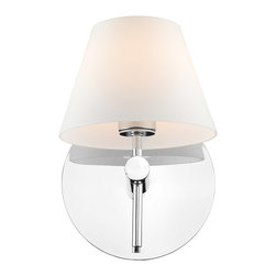 Golden Lighting - Golden Lighting C291-01-CH Sirio 1 Light Wall Sconces in Chrome - Sirio Wall Sconce in the Chrome Finish