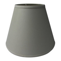 Home Concept - Hard Back Empire Lampshade - Light Oatmeal - Home Concept Signature Shades feature the finest premium linen fabric.