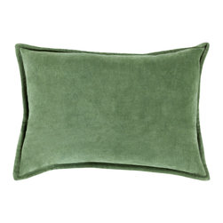 """Surya - Surya CV-008 Smooth Velvet Pillow, 22"""" x 22"""", Down Feather Filler - While simplistic in design, the effortless effect these dazzling pillows will have in your space will be anything but that! With a classic, solid design that shines in its smooth construction, this piece will create a transitional, yet flawless look from room to room in any home decor. Genuinely faultless in aspects of construction and style, this piece embodies impeccable artistry while maintaining principles of affordability and durable design, making it the ideal accent for your decor."""