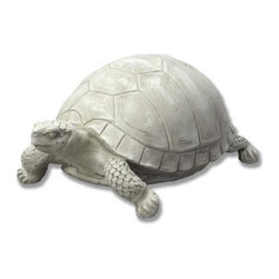 Orlandi Statuary - Franklin the Garden Turtle Statue Multicolor - F9051BIGTURTLE - Shop for Statues and Sculptures from Hayneedle.com! Rich detail and a charming design make Franklin the Garden Turtle Statue the perfect addition to any relaxing garden corner. This realistic statue is made of a weather-resistant fiberglass resin. Hand-poured into a cast this resin hardens to become lightweight and weather resistant making it perfect for outdoor use. A hand-painted non-peeling finish completes the statue highlighting the intricate details. This unique statue features a huge carefully carved shell brilliantly sculpted scales and a grouchy expression!About Orlandi StatuaryBorn in 1911 when Egisto Orlandi traveled from Lucca Italy to Chicago Illinois Orlandi Statuary quickly set the standard for excellence in their industry. Egisto took great pride in his craft and reputation and which is why artists interior designers and museums relied upon the careful details and impeccable quality he demanded. Over the years they've evolved into a company supplying more than statuary. Orlandi's many collections today include fiber stone for the garden religious statuary fountains columns and pedestals. Their factory and showroom are still proudly located in Chicago where after 100 years they remain an industry icon.