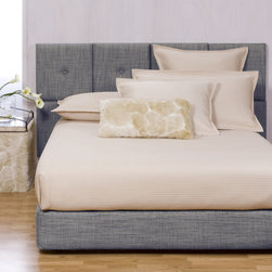 None - King-size Platform Bed Headboard Kit - Complete your bedroom decor with this king-size fabric headboard. This headboard features chic polyester fabric construction with beautiful accents.