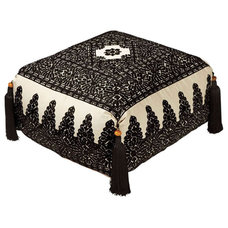 Mediterranean Ottomans And Cubes by Moroccan Prestige